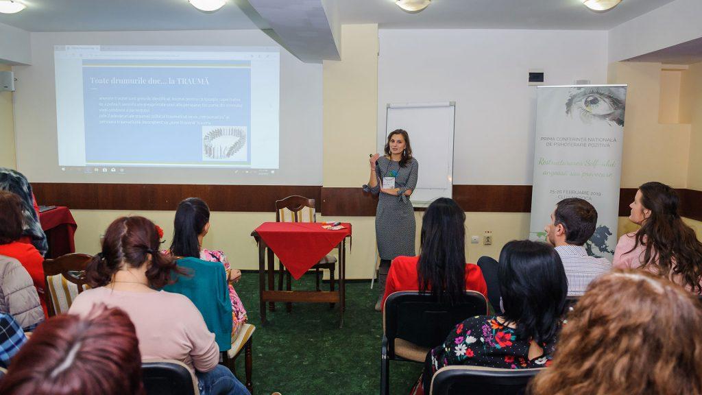 Diana BERINDEI | Conferinta Nationala de Psihoterapie Pozitiva