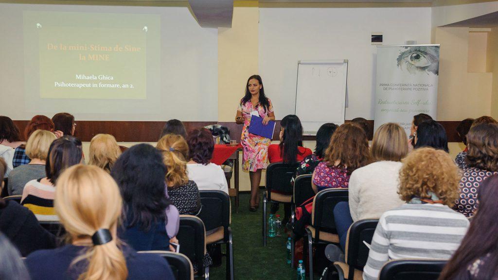 Mihaela GHICA | Conferinta Nationala de Psihoterapie Pozitiva
